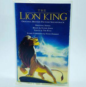 Vintage Cassette Tape DISNEY'S THE LION KING Original Soundtrack 1994 for Sale in Cockeysville, MD