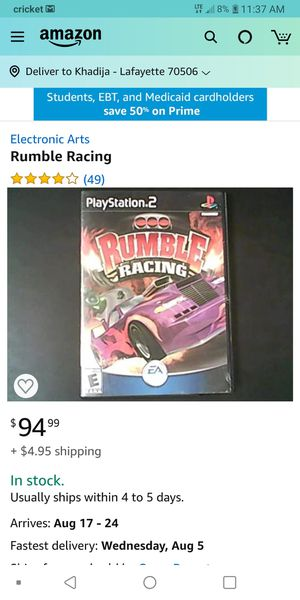 Am Look for this game for ps2 for Sale in Lafayette, LA