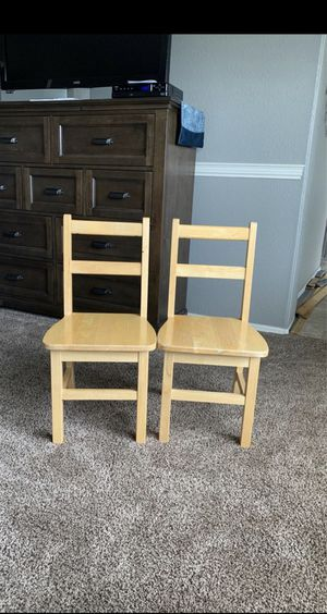 Children's kid wood chairs for Sale in Surprise, AZ