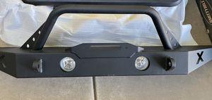 JEEP steel FRONT BUMPER for Sale in Phoenix, AZ