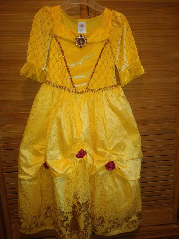 Disney store Belle dress size 7/8