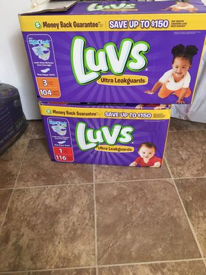 Assorted pampers sizes newborn-2 for Sale in Columbus, OH