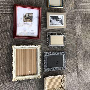 Frames Assorted 8x10 5x7 4x6 for Sale in Auburn, WA