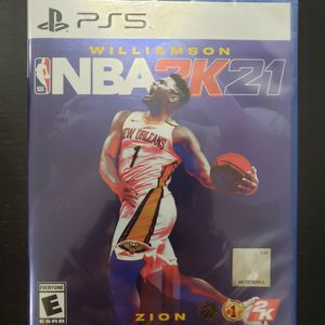 Sony Playstation 5 NBA 2K21 New Sealed PS5 Game for Sale in Fort Lauderdale, FL