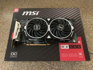MSI RX 580 GPU for Sale in Beaverton, OR