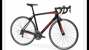 Trek Emonda S Road Bike Shimano 105 black red for Sale in San Francisco, CA