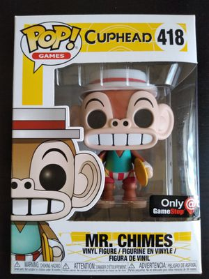 Cuphead Mr. Chimes Funko pop for Sale in Compton, CA