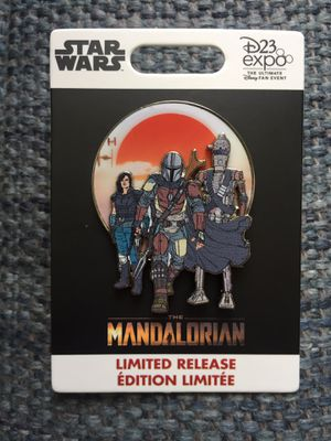New D23 2019 Disney Star Wars The Mandalorian Limited Release Edition Pin LE for Sale in Anaheim, CA