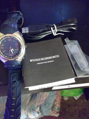 Voice Recorder Watch $25 for Sale in Anaheim, CA