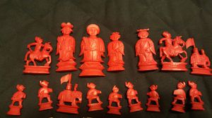 Ivory chess set for Sale in Hillsboro, OR