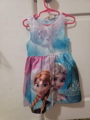 Ana and Elsa dress size 2-3 for Sale in Phoenix, AZ