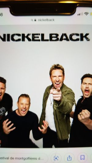Nickelback thursday night for Sale in Durham, CT