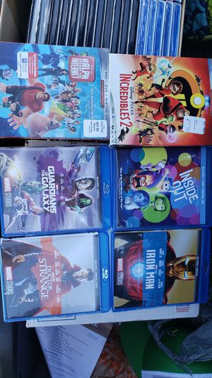 Blu-ray movies no codes asking $10 each for Sale in Davenport, FL