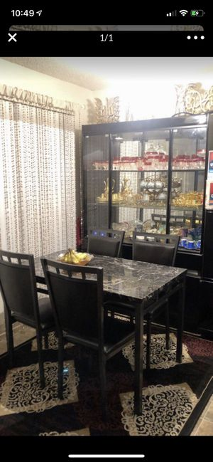 Discount today table and four chairs for Sale in Sacramento, CA