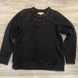 Michael Kors Sweat T-shirt Women's S size Black for Sale in San Francisco, CA