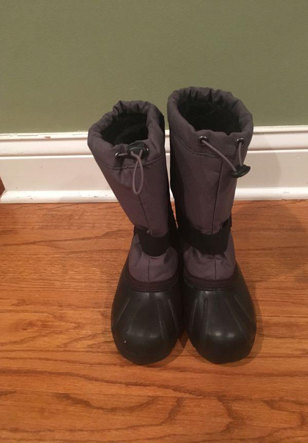 Boys - Kids snow boots size 2 Kamik