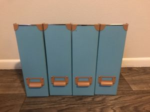 IKEA magazine file, two sets of two for Sale in San Antonio, TX