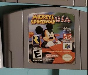 N64 Mickey's Speedway U.S.A. for Sale in Plainfield, IL