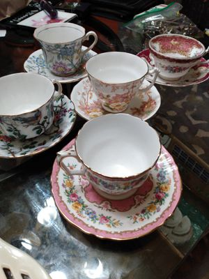 Fine bone china england antique for Sale in Portland, OR