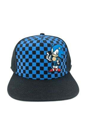 Brand NEW! Checkered Sonic The Hedgehog Snapback Hat For Everyday Use/Outdoors/Parties/Birthday Gifts/Easter Basket Stuffers $16 for Sale in Torrance, CA
