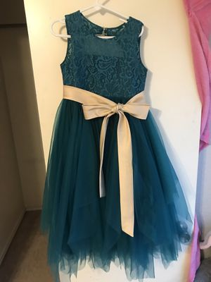 Scoop Neck Flower Girl Dress for Sale in Corinth, TX