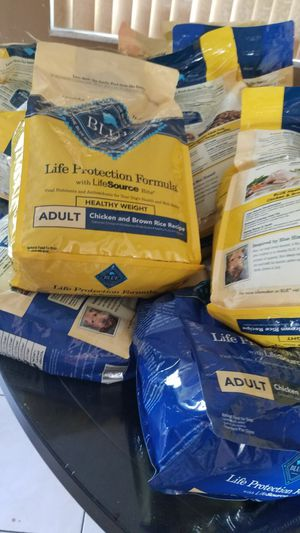 Blue Buffalo Adult and puppy dog food. 6oz bags $7 per bag for Sale in Pompano Beach, FL
