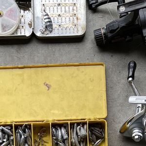 Fishing Reels With Tack Boxes for Sale in Salem, OR