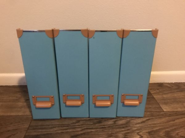 IKEA magazine file, two sets of two
