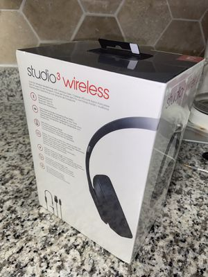 BEATS STUDIO 3 WIRELESS (MATTE BLACK) for Sale in San Antonio, TX