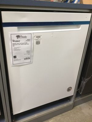 NEW!! Whirlpool Dishwasher With Total Coverage Spray Arm 💫 for Sale in Gilbert, AZ