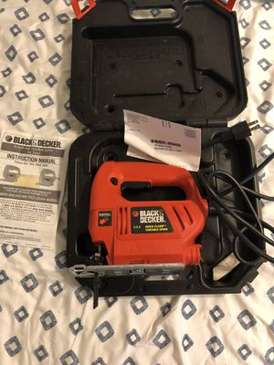 Jig Saw Black &Decker Variable Speed 3.5 amp Jigsaw for Sale in Rockville, MD
