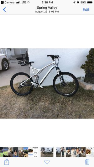 26 inch xl specialized stunt jumper pro with full fox suspension for Sale in Spring Valley, CA