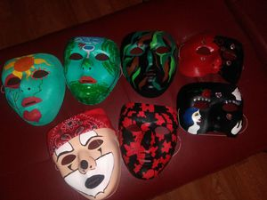 Hand Painted Hand Decorated Masks for Sale in La Verne, CA