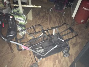 Double infant car seat stroller for Sale in Woodruff, SC