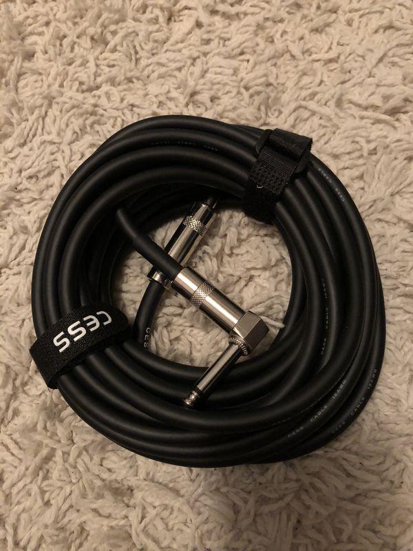 Cess guitar amp cord
