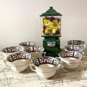 Antique dispenser/vending machine & teacups for Sale in Los Angeles, CA