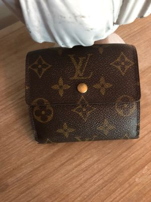Louis Vuitton compact monogram wallet for Sale in Denver, CO
