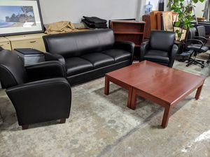 Reception couch and chairs for Sale in Santa Ana, CA