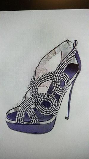 E LIVE RED CARPET OPEN TOE SIZE 6 for Sale in West Springfield, VA
