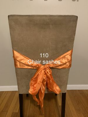 Chair sashes for Sale in MA, US