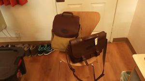 Bob timberjake Brand New Backpack and Leather Briefcase for Sale in Tempe, AZ