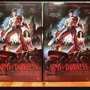 "Sideshow Army Of Darkness Ash And Evil Ash Sideshow 1/6th 12"" for Sale in Weston, FL"