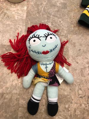 Sally plush doll nightmare before Christmas for Sale in Elgin, IL