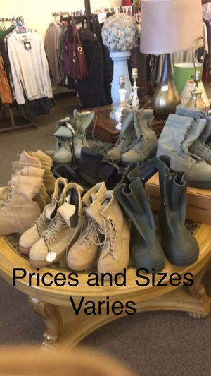 Men's Boots (Prices Varies) for Sale in Saint Robert, MO