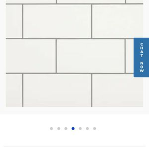 12.5sqft American Olean White Subway Wall Tile 4in x 8in for Sale in Orlando, FL