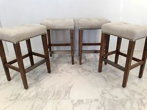 """Desert Canvas 26"""" Counter-Height Bar Stools (Set of 4) for Sale in Dallas, TX"""
