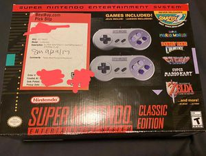 Super Nintedo Classic Edition for Sale in Cathedral City, CA
