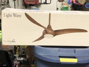 Light wave led modern ceiling fan for Sale in West Palm Beach, FL
