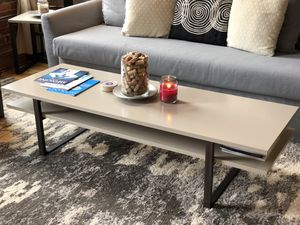 Modern huge coffee table with nesting side tables for Sale in Nashville, TN