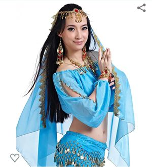 Womens jasmine or belly dancer costume. NEW for Sale in Edgewood, WA